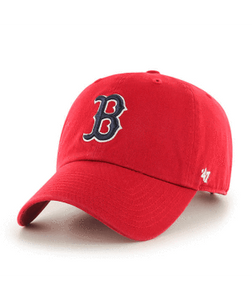 '47 Brand Red Sox Garmet Washed Red Cap Red - City Limit NY