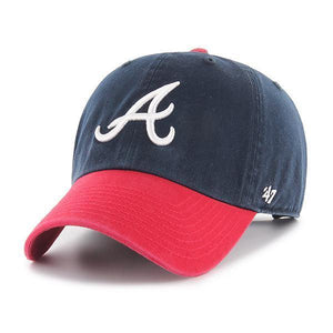 Atlanta Braves Two Tone '47 Clean Up