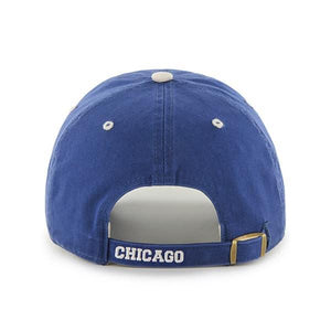 Chicago Cubs 47 Brand Blue Ice Clean Up Adjustable Hat - City Limit NY