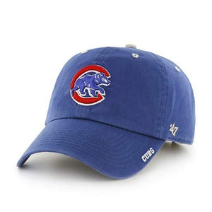 Chicago Cubs 47 Brand Blue Ice Clean Up Adjustable Hat