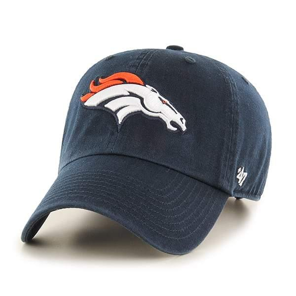 NFL '47 Clean up Adjustable Hat One Size Fits All Denver Broncos