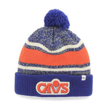 Load image into Gallery viewer, Cleveland Cavaliers Fairfax Cuff Knit Royal 47 Brand Hat - City Limit NY
