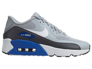 Nike Air Max 90 Ultra 2.0 Wolf Grey/White-Dark Grey (Big Kid) - City Limit NY