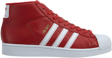 Adidas Pro Model Mens Scarlet/White-gold Metallic