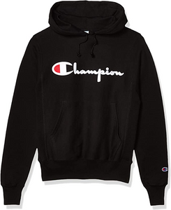 Champion LIFE Men's Reverse Weave PO Hood Black