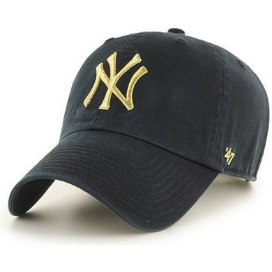 47 Brand New York Yankees Mens Black and Gold Clean Up - City Limit NY