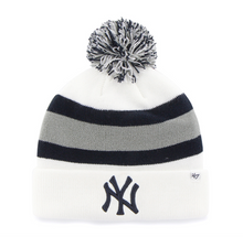 Load image into Gallery viewer, `47 NY Yankees White Breakaway Cuff Knit - City Limit NY