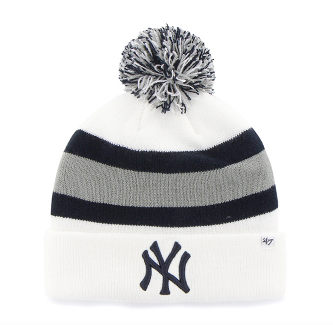 `47 NY Yankees White Breakaway Cuff Knit - City Limit NY