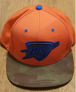 Oklahoma City Thunder Mitchell and Ness Snapback Features