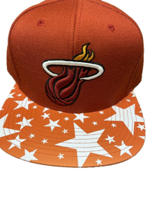 Miami Heat Mitchell and Ness NBA snapback
