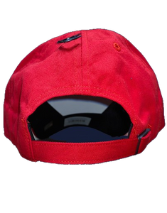 '47 Men's Chicago Bulls Red Shadow Clean Up Adjustable Hat
