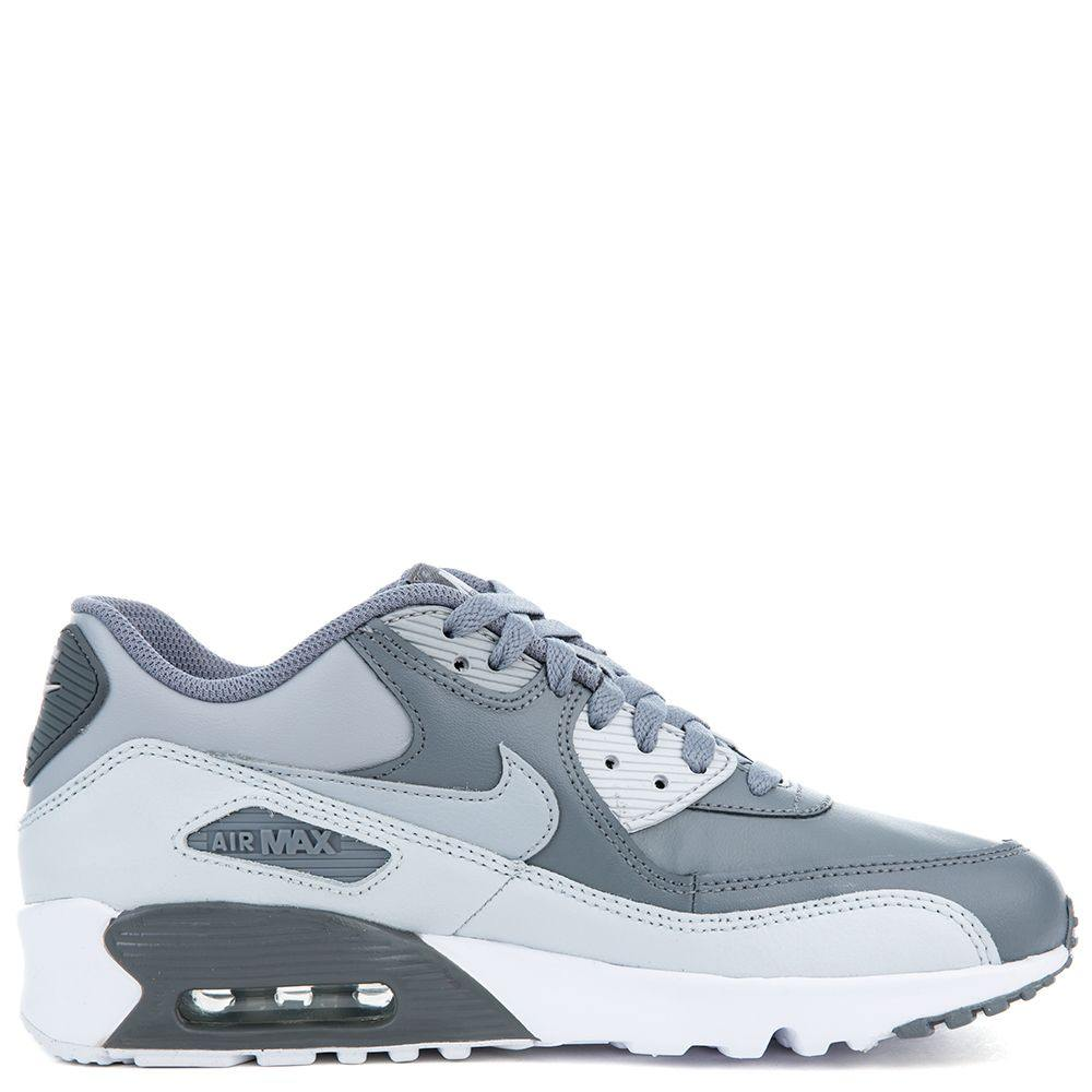 Air Max 90 LTR (GS) Cool Grey/Wolf Grey Pure Platinum White