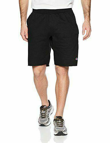 Black Champion LIFE Men's Reverse Weave Cut Off Shorts