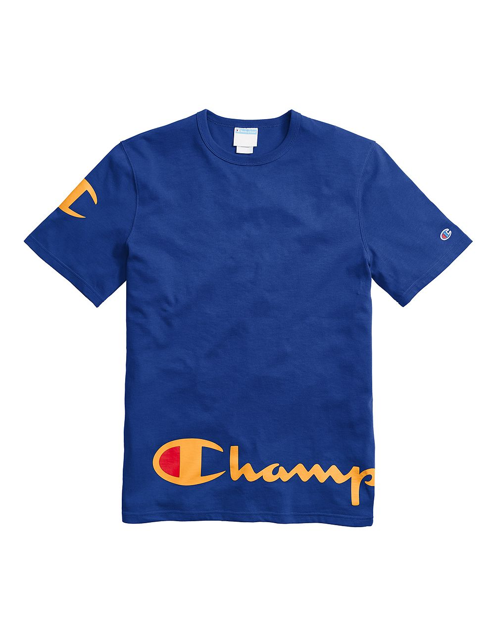 Champion Life® Men's Heritage Tee, Wraparound Logo Surf the Web