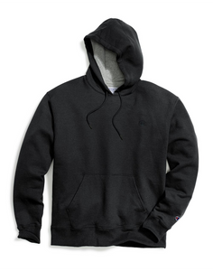 Champion Men's Powerblend Fleece Pullover Hoodie Black