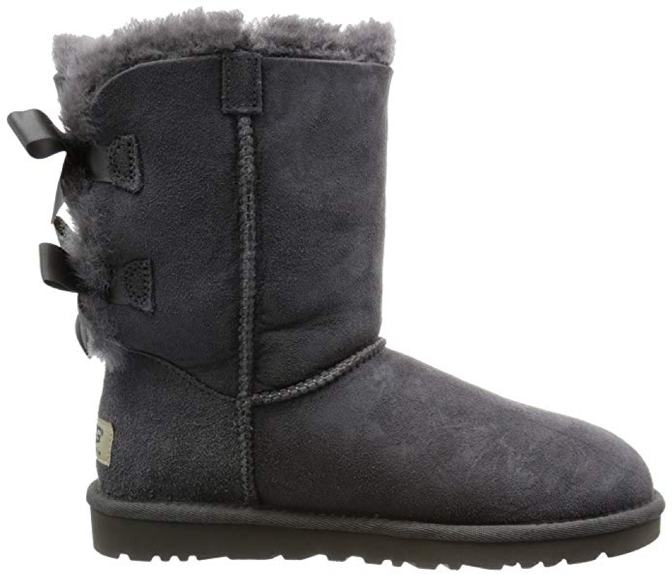 UGG Grey Women's Bailey Bow