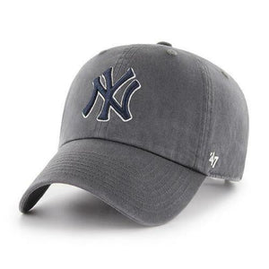 '47 Men's Yankees Clean Up Hat Charcoal Grey One Size - City Limit NY