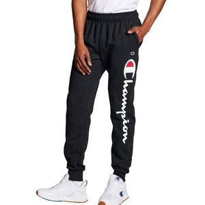 Champion Men's Powerblend Leg Script Joggers - City Limit NY