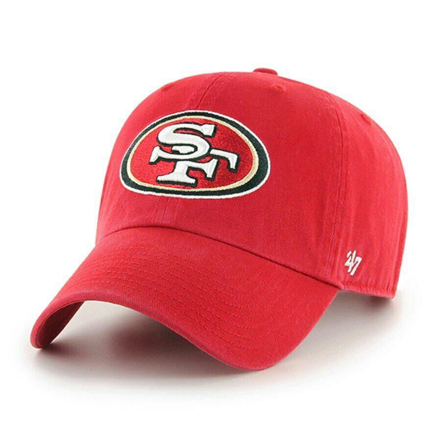 NFL '47 Clean up Adjustable Hat One Size Fits All San Francisco 49ers - City Limit NY