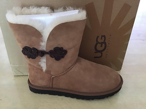 Women Bailey Mariko Ugg 1009262 Chestnut - City Limit NY