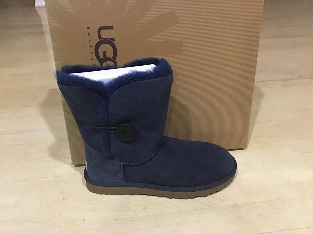 Women Navy UGG Bailey Button - City Limit NY