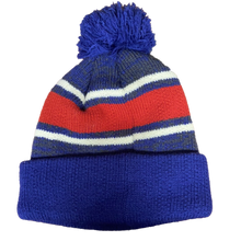Load image into Gallery viewer, MLB 47` Brand Chicago Cubs Winter Hat Pom Fairfax Cuffed Knit Hat