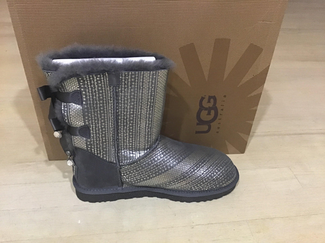 Women Grey Bailey Box Ugg Bling 1004791