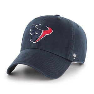 `47 Houston Texans NFL Clean Up Strapback Baseball Cap Dad Hat