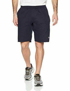 Navy Champion LIFE Men's Reverse Weave Cut Off Shorts