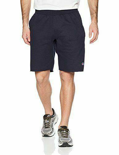 Navy Champion LIFE Men's Reverse Weave Cut Off Shorts - City Limit NY
