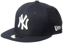Load image into Gallery viewer, New Era New York Yankees Team Color Basic 9Fifty Snapback Cap Hat Navy Blue 70416578 - City Limit NY