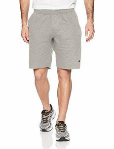 Oxford Grey Champion LIFE Men's Reverse Weave Cut Off Shorts