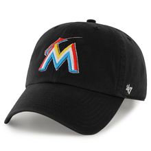 Load image into Gallery viewer, Men's Miami Marlins Clean Up Home 47 Brand Adjustable Hat