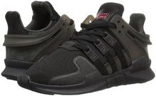 Load image into Gallery viewer, Adidas Originals Big Kids EQT Support ADV Sneaker Black/Black/White BB0238 - City Limit NY