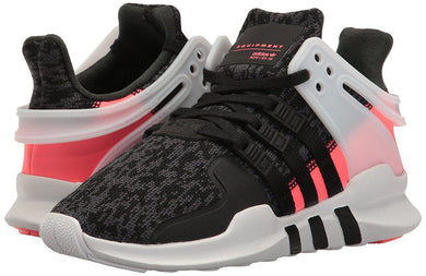Adidas Originals BigKids EQT Support ADV Sneaker Black/Black/Turbo Fabric BB0543