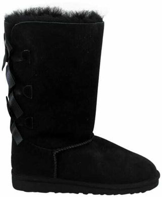 Ugg K Kailey Bow Tall Black 1007309Y/BLK - City Limit NY