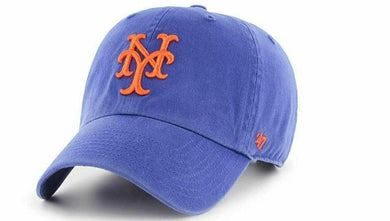 47 Brand New York Mets Home MVP Cooperstown Adjustable Hat Baseball Cap - City Limit NY