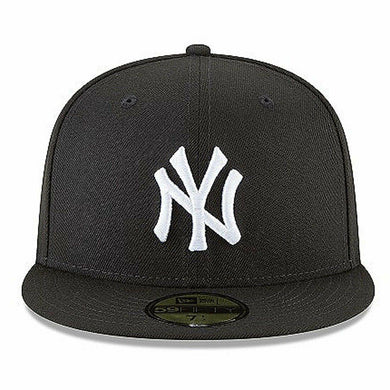Men's New York Yankees New Era Black 59FIFTY Fitted Hat