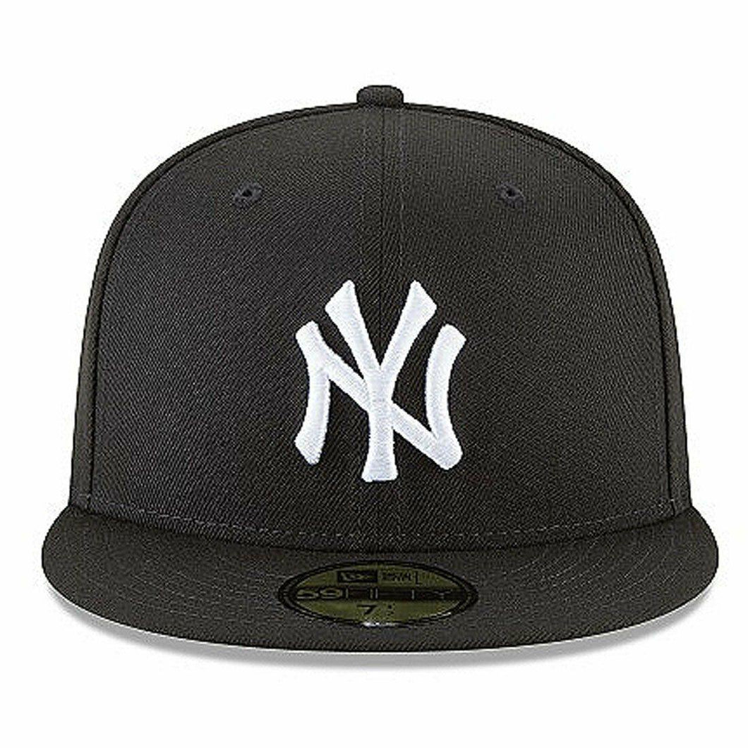 Men's New York Yankees New Era Black 59FIFTY Fitted Hat - City Limit NY