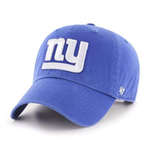Load image into Gallery viewer, New York Giants '47 Brand Mens Blue Clean Up Adjustable Hat