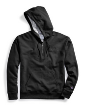 Load image into Gallery viewer, Champion Men's Powerblend ¼ Zip Pullover Hoodie