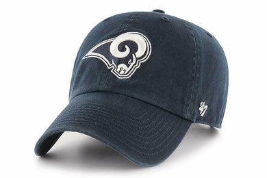 47 Brand Clean Up NFL Los Angeles Rams Adjustable Cap, OS - City Limit NY