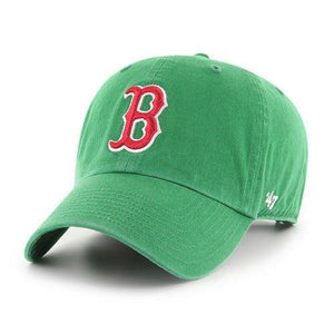 29aadae5 Boston Red Sox MLB '47 Green St. Patty's Clean up Slouch Hat Cap Mens  Adjustable