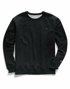Champion Sweatshirt Fleece Men's Crewneck Powerblend Sweats Pullover Authentic