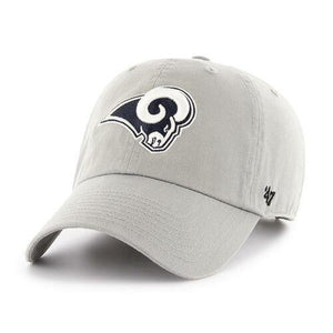47 Brand Clean Up NFL Los Angeles Rams Adjustable Cap, OS