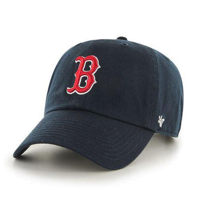 Boston Red Sox '47 Brand Navy Blue Clean Up Adjustable Dad Hat - City Limit NY