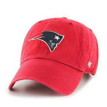 Load image into Gallery viewer, '47 Brand New England Patriots Alternate Clean up Adjustable Hat Red
