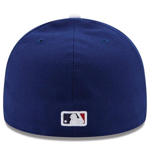 Los Angeles Dodgers New Era Authentic Collection On Field 59FIFTY Performance Fitted Hat - Royal - City Limit NY
