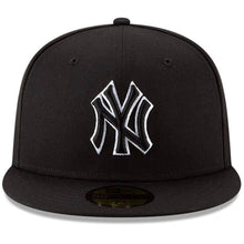 Load image into Gallery viewer, New York Yankees New Era B-Dub 59FIFTY Fitted Hat - Black - City Limit NY