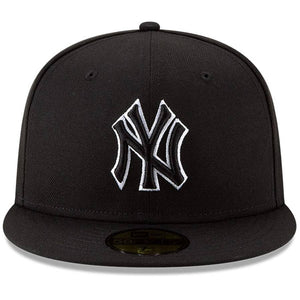 New York Yankees New Era B-Dub 59FIFTY Fitted Hat - Black - City Limit NY